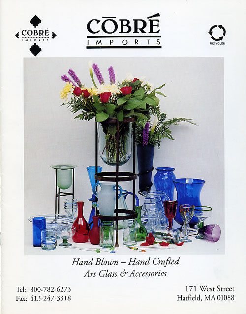 Cobre Imports- hand blown hand crafted art glass and accessories