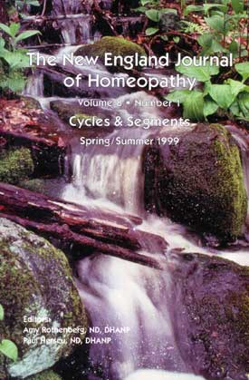 The New England Journal of Homeopathy