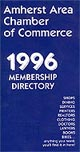 Amherst Area Chamber of Commerce 1996