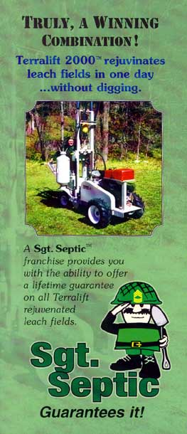 Sgt. Septic Brochure