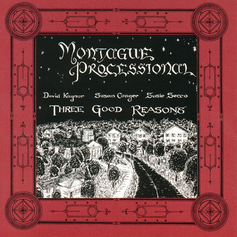Positronic Print Design Portfolio - CD/DVD Covers - Montague Processional - Three Good Reasons
