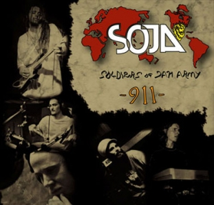 Positronic Print Design Portfolio - CD/DVD Covers - SOJA 911