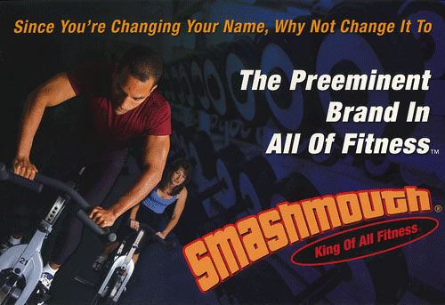 Front of The Smashmouth Postcard Design