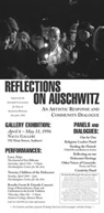 Reflections on Auschwitz Poster