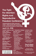 The Fight for Reproductive Rights Poster