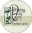 Delights of the Earth Circular Herbal Salve Sticker