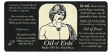 Oils of Eros Sticker and Label