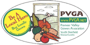PVGA Pioneer Valley Growers' Association label